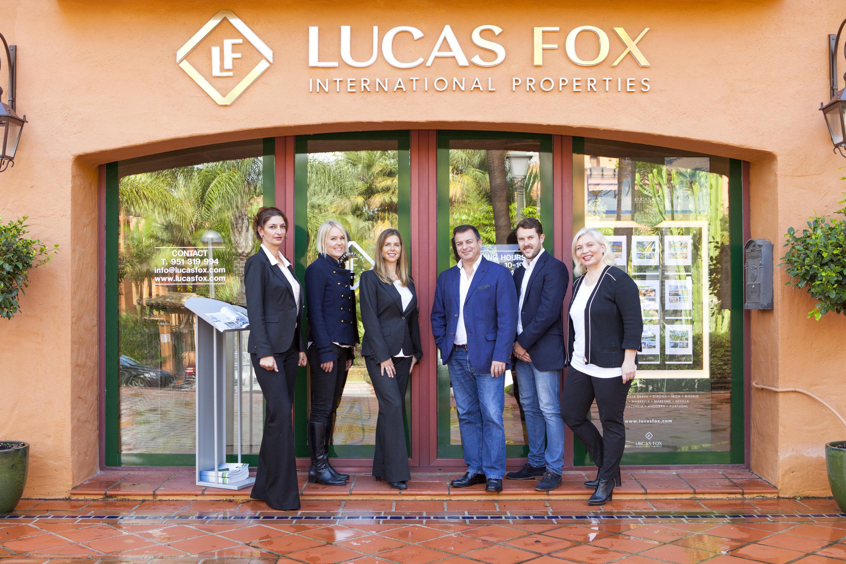 Lucas fox inaugura su nueva oficina comercial en marbella for Oficinas prop valencia