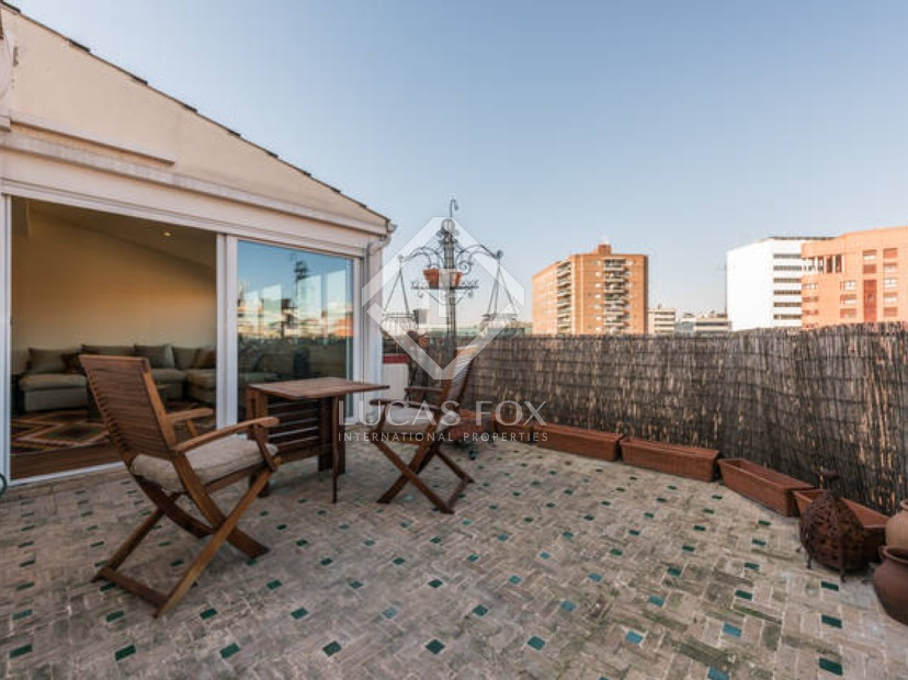Apartments with terrace in Madrid