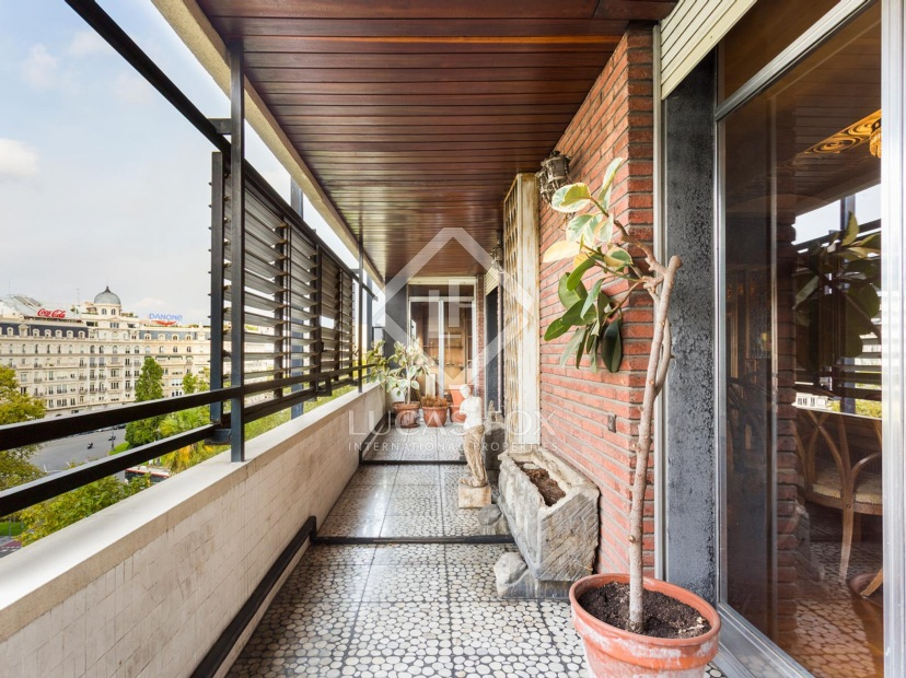 Apartments with terrace in Barcelona