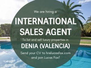 international sales agent denia