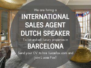 International Sales Agent Dutch Speaker - Barcelona