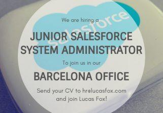 Junior Salesforce System Administrator - Barcelona
