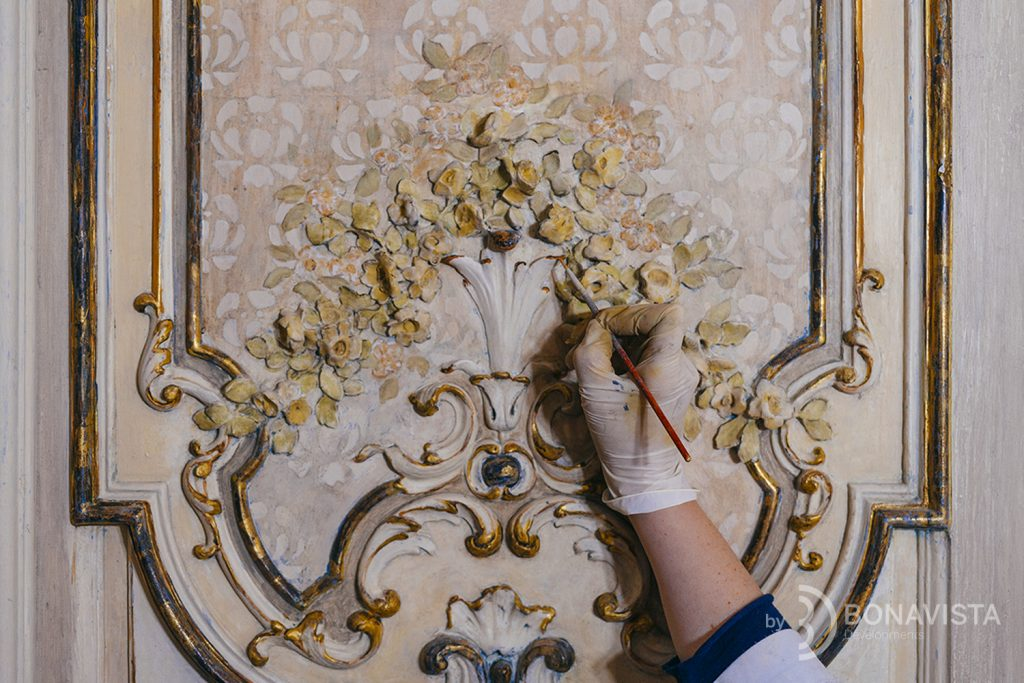 Casa Burés restoration, details