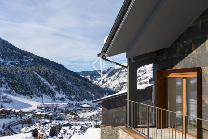 chalets de esquí en Andorra
