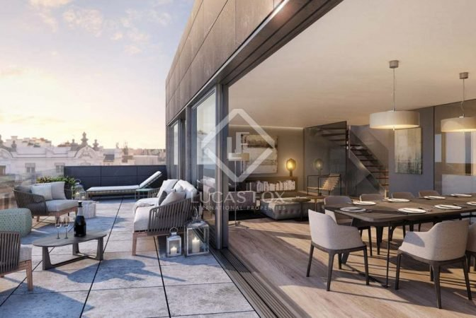 Penthouses For Sale In Madrid The Best Selection Lf