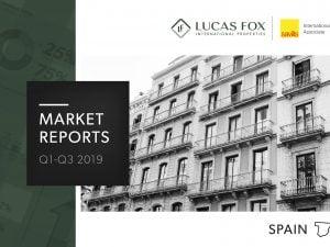 real estate market analysis Q3 Spain