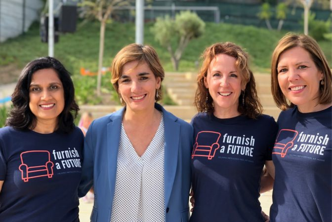 Furnish a Future's Teja Rau, Marta Vernet, Lisa Mougin, Andrea Fellman